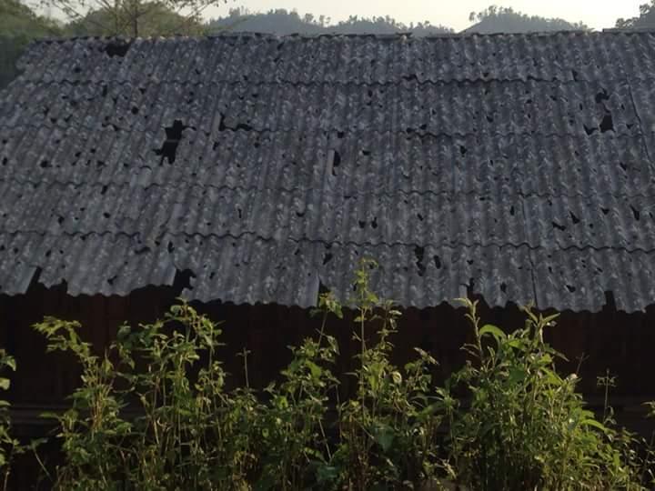 Điện Biên thiệt hại 11 tỷ đồng do mưa bão