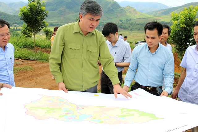 Tuần Giáo cơ bản hoàn thành công tác kiểm kê đất đai và lập bản đồ hiện trạng sử dụng đất năm 2019
