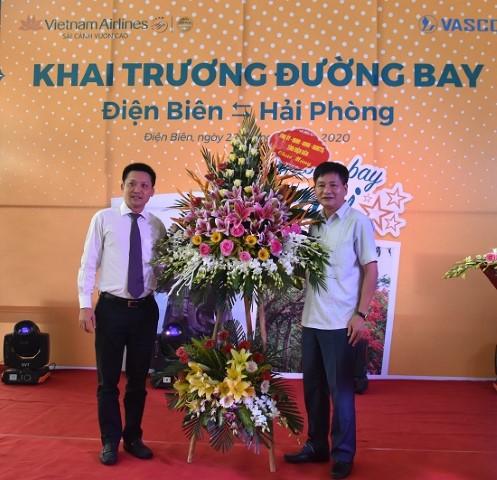 VPUB – Khai trương đường bay mới Điện Biên - Hải Phòng