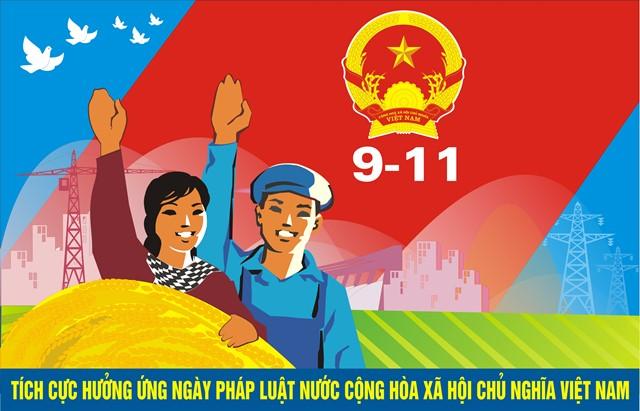 Hưởng ứng ngày PL nước CHXHCN Việt Nam