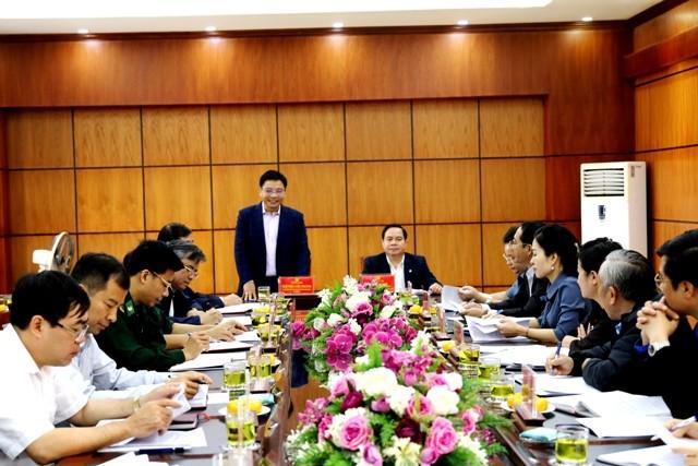 VPUB - Đồng chí Điểu K'ré, Ủy viên Trung ương Đảng, Phó Trưởng ban Thường trực Ban Dân vận Trung ương làm việc tại Điện Biên