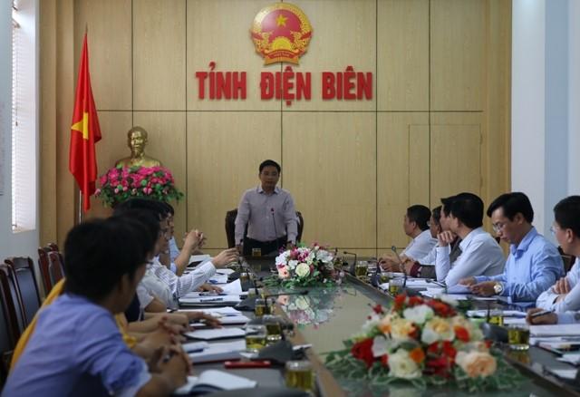 VPUB – Quyết tâm sớm khởi công Dự án nâng cấp, mở rộng Cảng hàng không Điện Biên