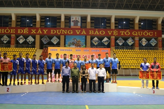 VPUB – Bế mạc Giải Bóng chuyền Đoàn kết Công - Nông - Binh tỉnh lần thứ 37