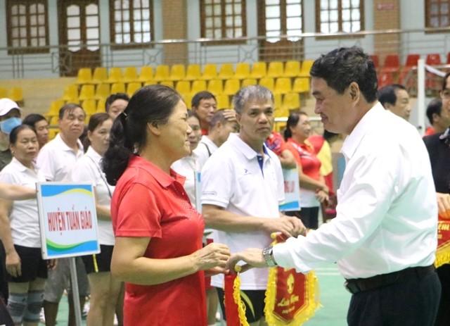 VPUB - Trên 150 vận động viên tham gia Hội thi thể thao Người Cao tuổi tỉnh Điện Biên năm 2020