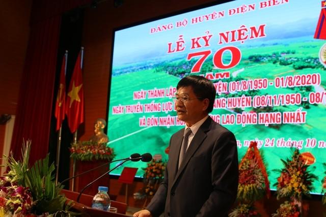 VPUB - Kỷ niệm 70 năm Ngày thành lập Đảng bộ huyện Điện Biên